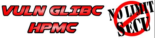 NoLimitSecu - Vuln GLIBC - HPMC - 512